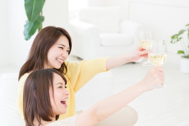 コンパニオン乾杯